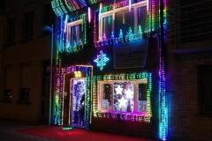 Das Weihnachtshaus in Bredene