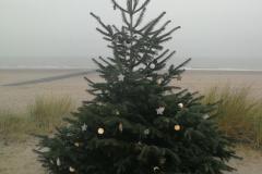 auch am Strand ist Weihnachten